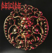 DEICIDE - s/t DEICIDE - RED COLORED Vinyl LP - DEATH METAL CLASSIC - SEALED
