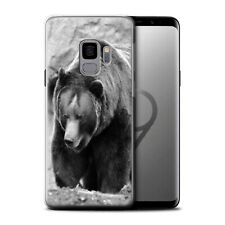 Animaux de zoo Coque Gel pour Samsung Galaxy S9/G960/Ours