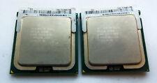 two Quad-Core Intel XEON X5365 3.0GHz/8MB/1333 CPU LGA771  Matching Pair !!