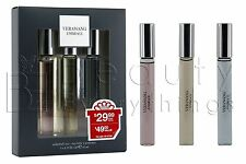 Vera Wang Embrace Rollerball Trio Gift Set 3 x 0.33oz / 10ml EDT NIB For Women