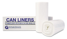 200 Trash Can Liners 55 - 60 Gallon Garbage Bags Commercial Coreless Roll - New