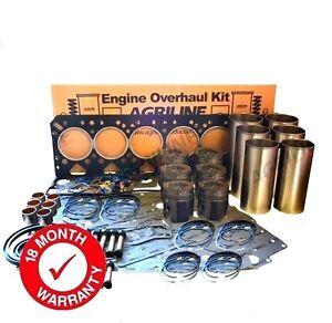 ENGINE OVERHAUL KIT FOR SOME JCB 1115 125 FASTRAC PERKINS 1006.6 BLUE ENGINE.