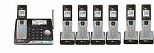 AT&T CLP99553 DECT 6.0 Connect to Cell BLUETOOTH 7 Handset Cordless Phone System