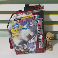 MONSTER HIGH SECRET CREEPERS PETS SHIVER AND WATZIT ELEPHANT AND DOG!