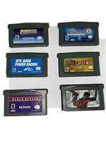Gameboy Advance Games Lot Of 6