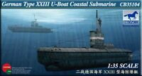 Bronco 1/35 CB35104 German Type XXIII U-Boat Coastal Submarine model kit
