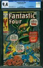 Fantastic Four 108 CGC 9.4 -- 1971 -- Kirby Romita.  Nega-Man. #2036708002