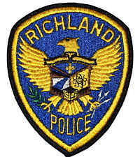 RICHLAND WASHINGTON WA Sheriff Police Patch EAGLE SHIELD ~