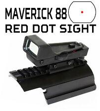 Maverick 88 12 gauge ShotgunTactical Red Dot Sight Combo Kit