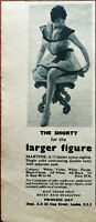 Princess Gay Nylon Nightie The Shorty for the Larger Figure Vintage Advert 1957