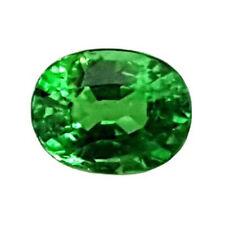 Grenat Tsavorite - 1,23 Carat - Kenya - Ovale -Vert intense- Vivid green garnet