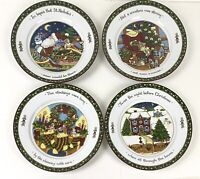 International China Susan Winget A CHRISTMAS STORY Dinner Plates Set of 4