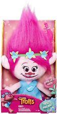 Dreamworks Trolls Poppy Talkin Troll Plush Doll Toy