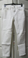 Womens Juniors JCP Skinny Ankle White Jeans Size 27/4P