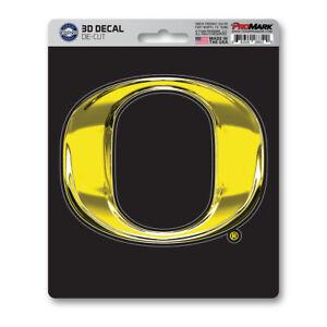 New NCAA Oregon Ducks Premium Vinyl Die Cut 3D Decal / Sticker