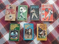 Lot Of 7 Vintage Sports Books - 1960-1978