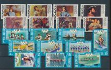 LM43531 Nicaragua olympics paintings fine lot MNH