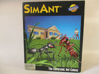 Commodore Amiga SIM ANT Computer Game by Maxis!!