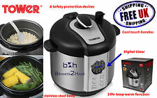 Tower Non Stick Electric Multi Function Pressure Rice Cooker Steamer Keep Warm