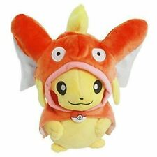 "Pokemon Pikachu with Magikarp Hooded Cape Cosplay 8"" Plush Stuff Toy"
