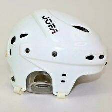 JOFA Hockey Helmet Vintage Classic White Size 53-58 Made In Sweden
