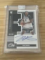 NAZ REID 2019-20 Panini One and One Rookie Jersey Auto RC RPA #83 /99 RDJA-NAZ