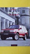 Toyota Previa & Landcruiser VX II COCHE FOLLETO VENTAS Catálogo Excelente Cruiser