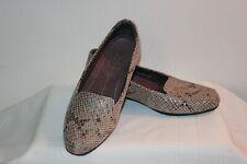 Clarks Artisan Women's Slip on Causal or Dress Shoes Sz 5 M Beige/Tan Snake Skin