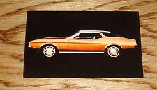 Original 1971 Ford Mustang Post Card Brochure 71