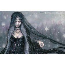 "Victoria Frances Winter Gothic Fantasy Art Poster 36"" x 24"" Free Ship"