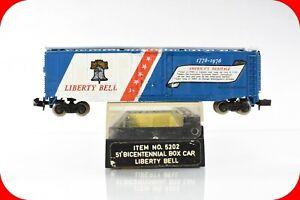 N Scale JULY 4TH USA 1776-1976 Spirit of '76 LIBERTY BELL Box Car, Bachmann 5202