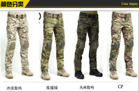 Men Tactical Pants With Knee Pads Army military Ripstop Combat Camo Trousers for