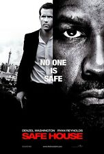 NEW DVD - SAFE HOUSE - Denzel Washington, Ryan Reynolds, Vera Farmiga, Brendan G