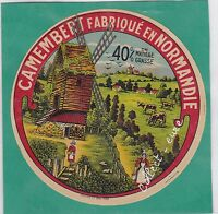K318 FROMAGE CAMEMBERT NORMANDIE 40% DE M. G.  MOULIN A VENT 2 FEMMES
