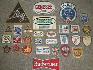 Vintage Beer Patches 70s 80s Lot Of 29