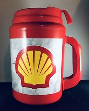 Shell Gas Oil-Aladdin Vintage Insulated Travel Drink Coffee Mug Cup Collectible!