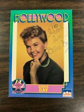 Doris Day AUTOGRAPH on Starline Hollywood Walk of Fame Card