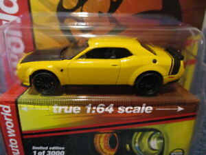 AW AUTO WORLD 2021 M&J TOYS MIJO EXCLUSIVE, 2019 DODGE CHALLENGER SRT HELLCAT