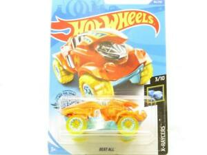 Hot Wheels Vaincre Tout X-Raycers GHD52 86/250 Long Carte 1 64 Scale Scellé New