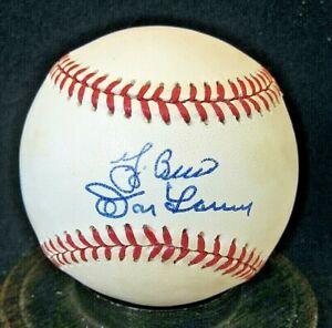 Yogi Berra & Don Larsen Signed OAL Baseball JSA Certified; 1956 Perfect Game Duo