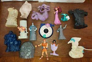 Hercules Disney Figure toy playset bundle Titan Pegasus Hades Cerebus Cyclops