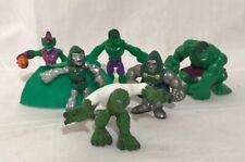 Playskool Heroes Marvel Super Hero Action Figure Lot Of 6 Hulk & Villians