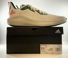 Adidas Alphabounce U University Of Miami Hurricanes Sneakers Mens 11.5 EF8185