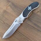 BÖKER Magnum Iron Cross Messer -Einhandmesser - TASCHENMESSER - 01RY921