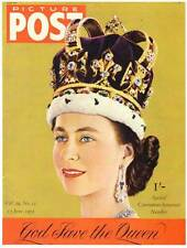 UK magazine PICTURE POST June 13, 1953 - Special Coronation issue #2 - color
