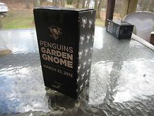 Pittsburgh Penguins GARDEN GNOME ! Pens Stadium GiveAway Consol 3/22/12 MIB