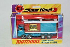 Matchbox Super Kings K-14 Scammell Freight Liner, Mint in Original Box