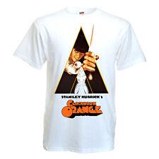 CLOCKWORK ORANGE Movie Poster T shirt WHITE all sizes