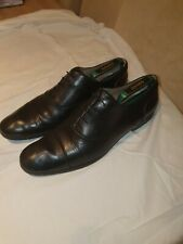 MR HARE 'Miller' Black Leather Shoes 10/ 44 VERY GOOD CONDITION  Made in Italy