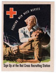 (I.B-CKK) US War Cinderella : Red Cross Publicity Label (Nurses)